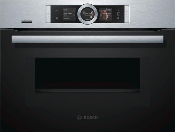 Bosch CNG6764S6 Edelstahl Kompaktbackofen mit Mikrowelle