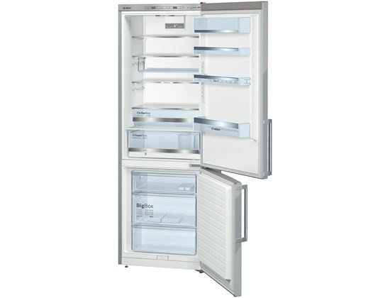 Bosch KGE49BI40 Stand-Kühl-Gefrierkombination Türen Edelstahl