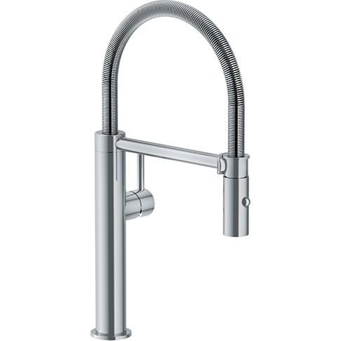 Franke Küchenarmatur Pescara Semi-Pro L Edelstahl 10480