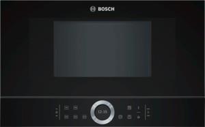 Bosch BFL634GB1 Einbau Mikrowellengerät vulkan schwarz
