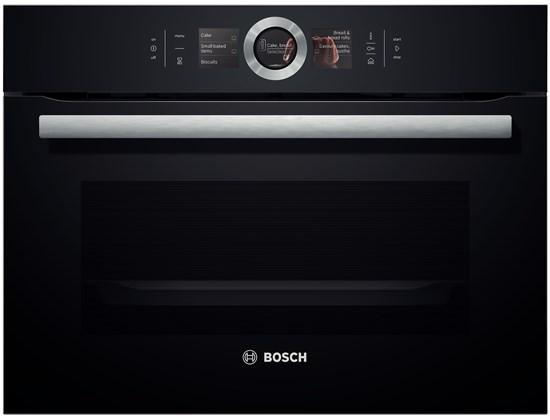 Bosch CSG656RB6 Kompaktdampfbackofen vulkan schwarz