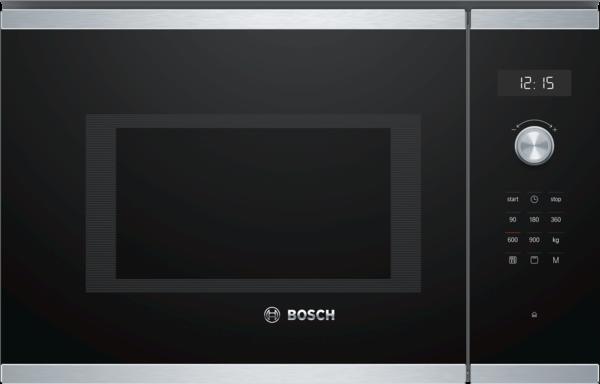 Bosch Einbau-Mikrowellengerät mit Grill BEL554MS0 Edelstahl