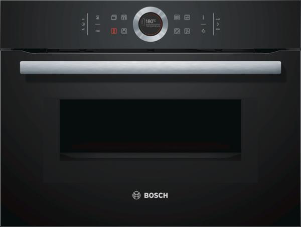 Bosch CMG633BB1 Vulkan Schwarz Kompaktbackofen mit Mikrowelle